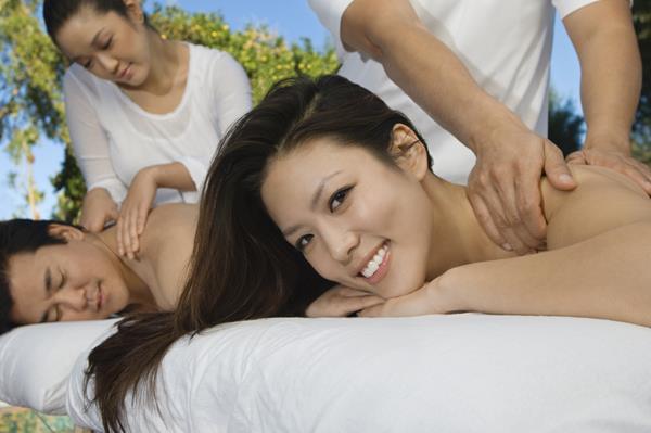 masaż dla dwojga
